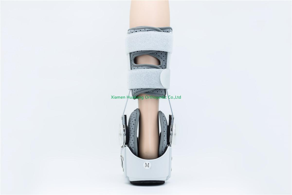 ice-bags hinged walker boot braces for foot immobilization