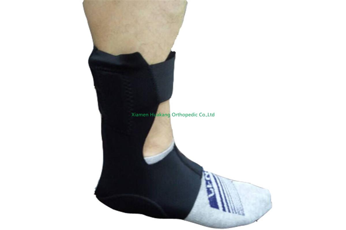 ankle stirrup with airbags step