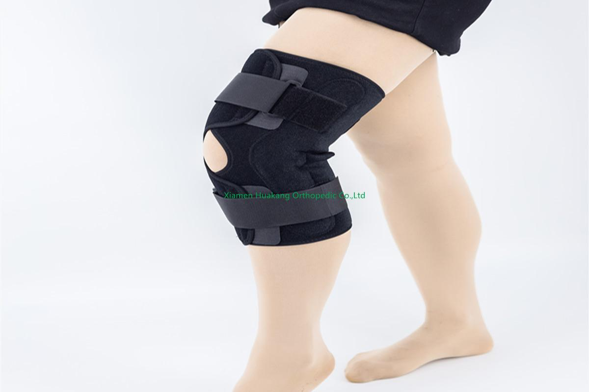 Open patella designed Knee braces