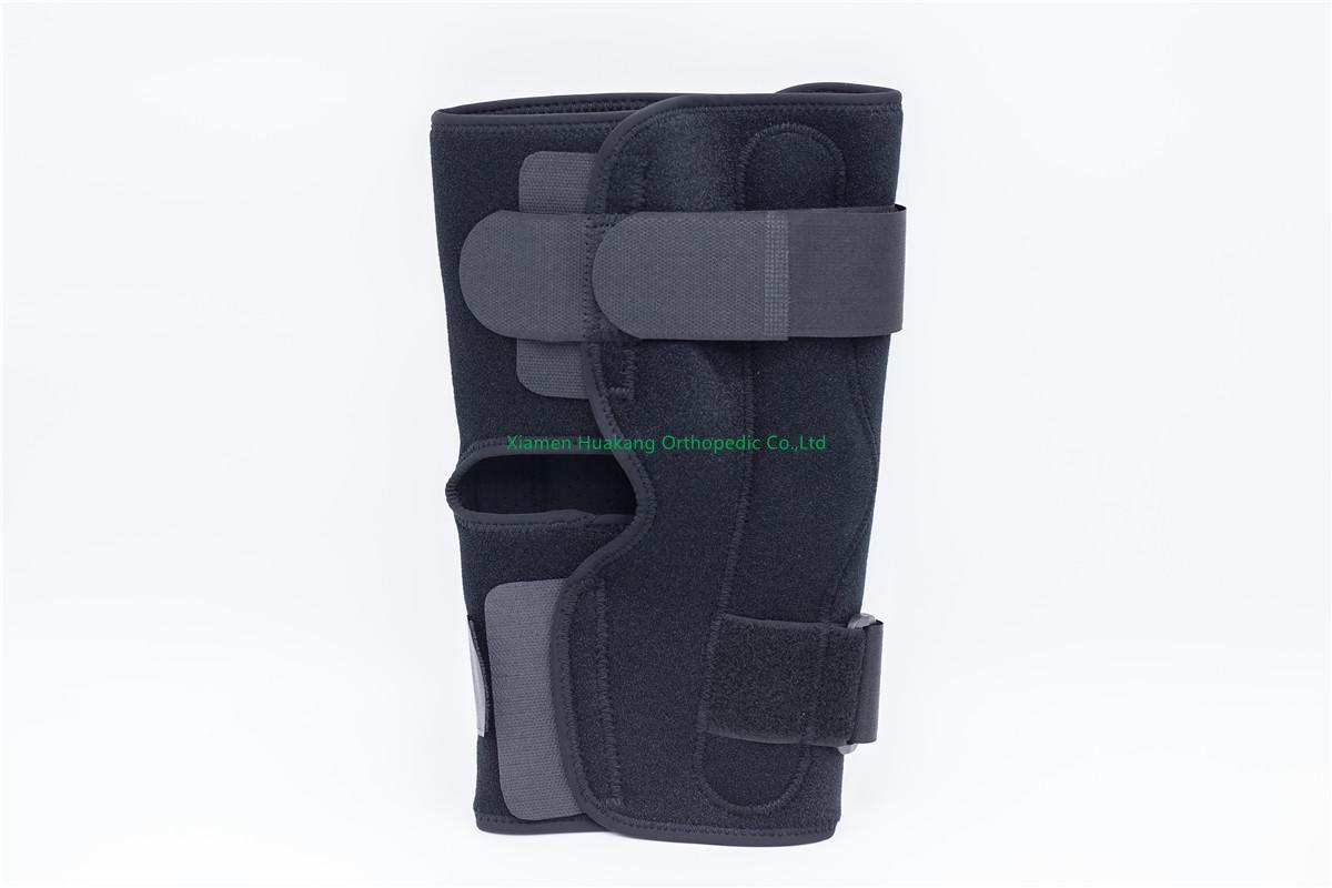 Orthotic knee sleeves with aluminum hinges