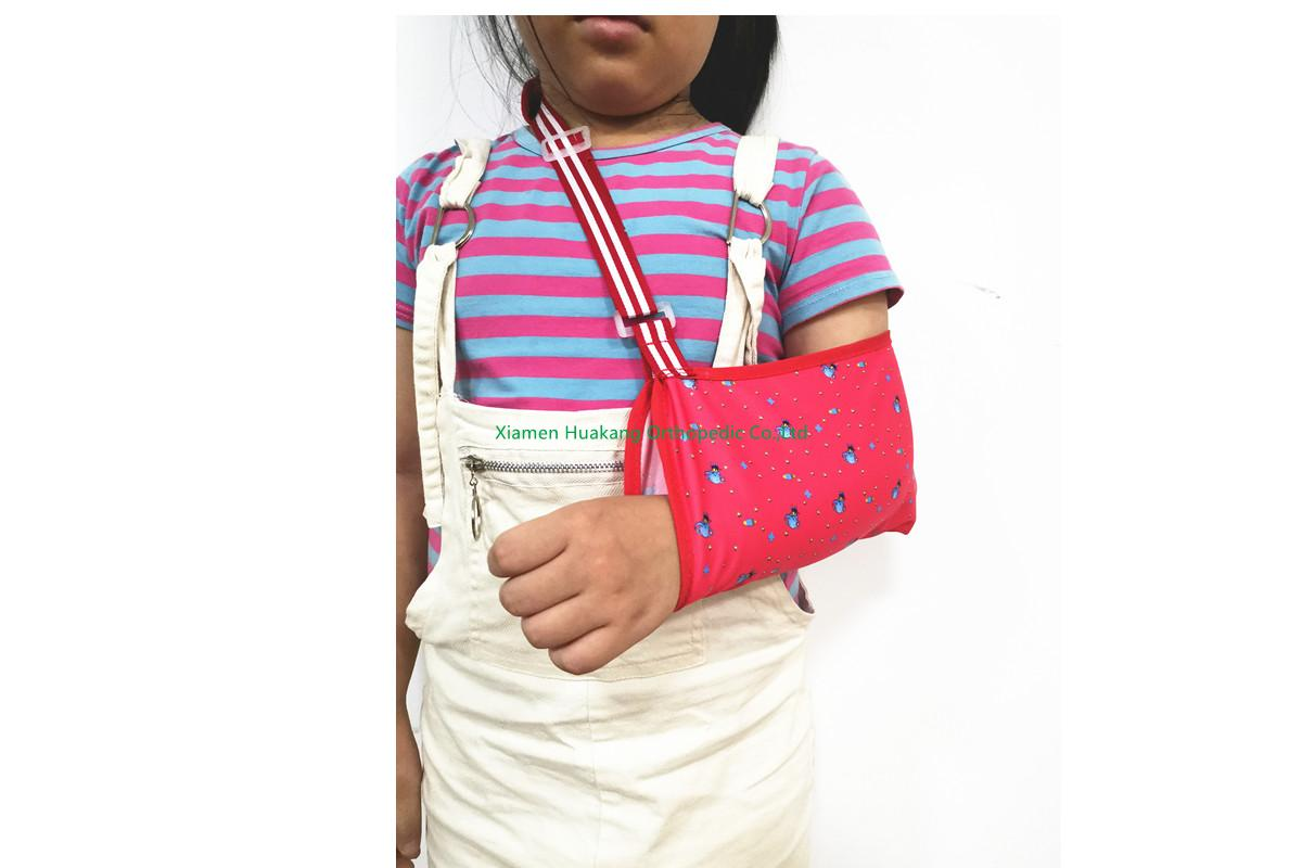 Cradle Arm Sling, Pediatric, Print Fabric