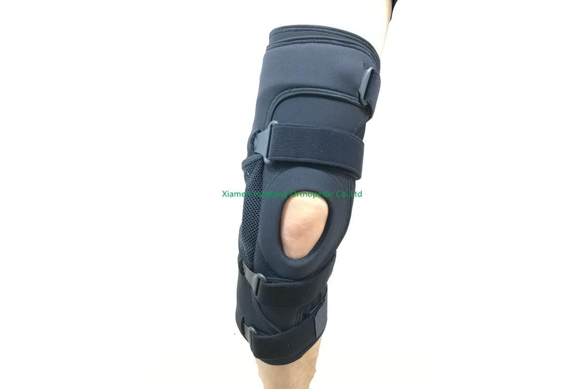 hinged Knee osteoarthritis wraparound