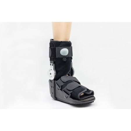 Orthotic pneumatic aircast walking boot supports